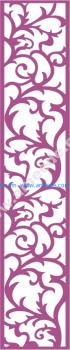 Laser Cut Vector Panel Seamless 179