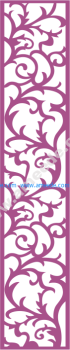 Laser Cut Vector Panel Seamless 179