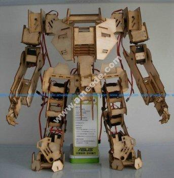 Mechbot Robot Laser Cut 3D Puzzle