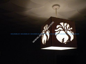 Moon Hare Night Light Lamp