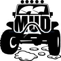 Mud Offroad Sticker
