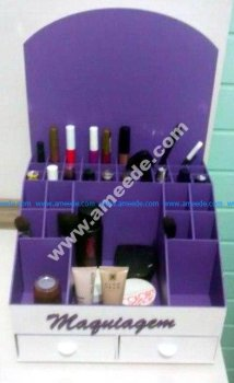 Organizer For cosmetics Plywood 3mm