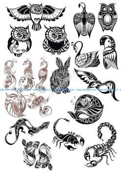 Original Animals Vector Pack