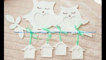 Owls on the Branch Photo Frame