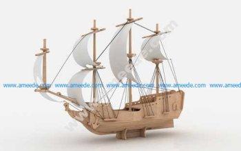 Pirate Ship L 6mm