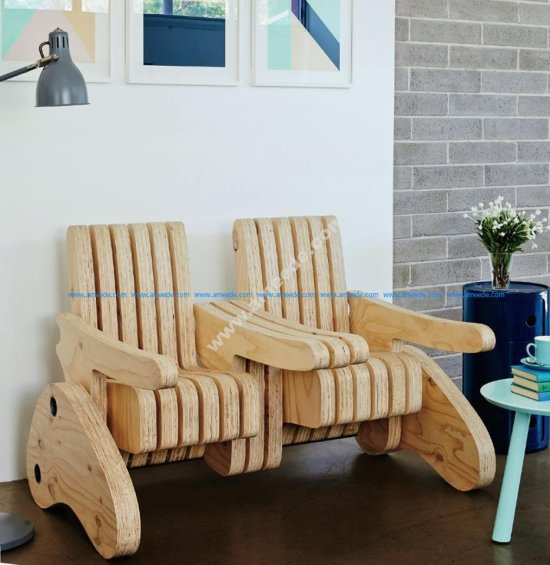 Plywood Multi Function Seat 2