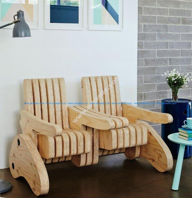 Plywood Multi Function Seat 2
