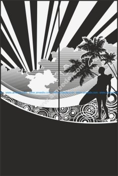 Sandblast Pattern 2182