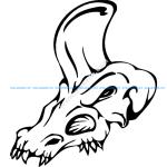 Skull 020