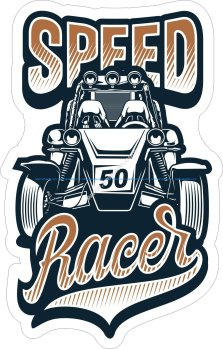 Speed Racer Sticker