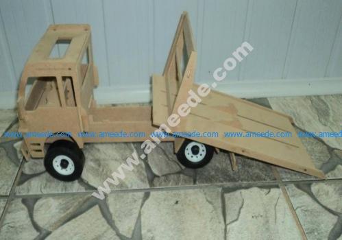 Truck Lasercut 3D Puzzle