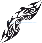 Vector Tribal Tattoo Design