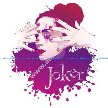 Vector women Joker illustration