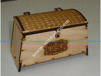 Viking Chest with lock and hinge
