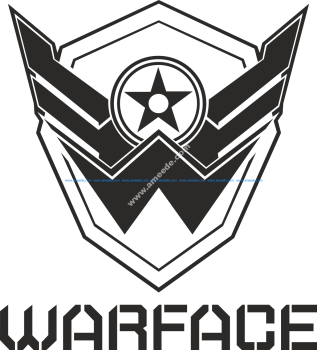 Warface Logo Vector