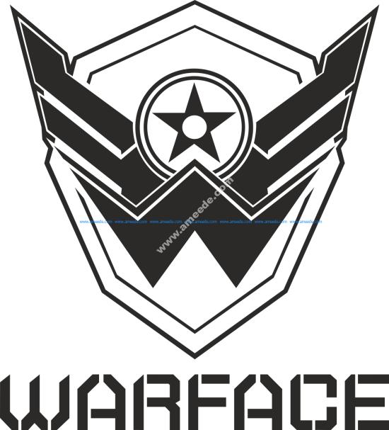 Warface Logo Vector