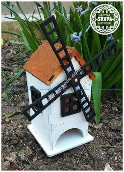 Windmill tea house lasercut
