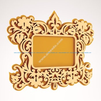 Wooden Mirror CNC Project