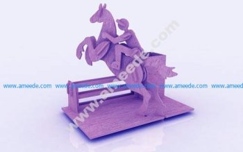 Horse Riding Pen Holder Stand 3mm