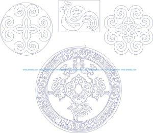 Decorative art of the Amur tribes