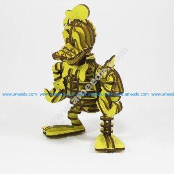 Donald Duck 3D Puzzle