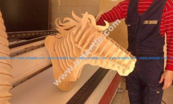 Horse Head 3D Puzzle
