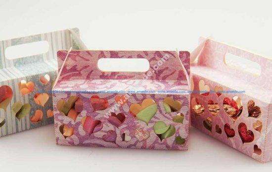 Laser-Cut Cardstock Candy & Trinket Boxes