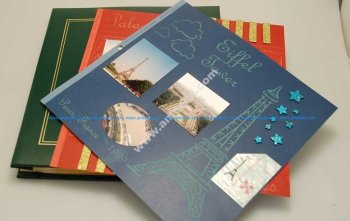 Lasering Custom Scrapbook Pages