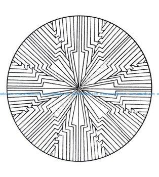 Mandala a colorier gratuit a imprimer 11