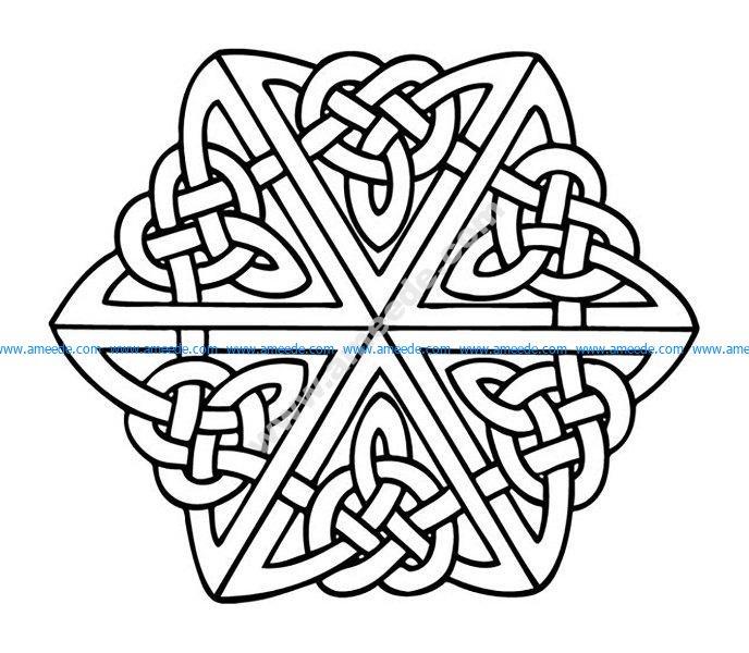 Mandala celtique 1