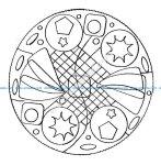Mandala facile par domandala 9