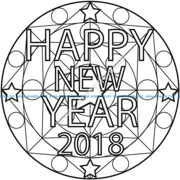 Mandala happy new year