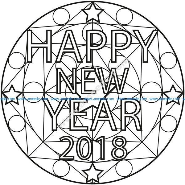Mandala happy new year