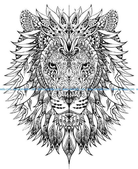 Tete lion