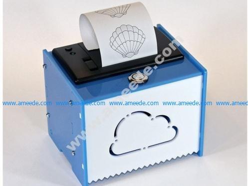 Adafruit IoT Pi Printer Project Pack - Enclosure