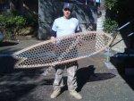 Cardboard Surfboard - 6'4