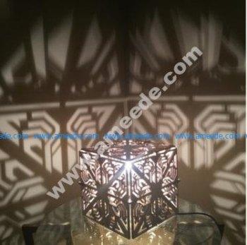 Cube Shadow Lamp Laser Cut