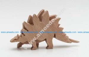 Dino Stegosaurus 3-layered-animal