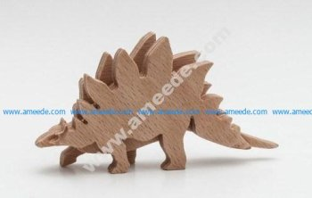 Dino Stegosaurus 3-layered-animal