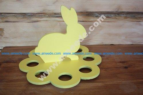 Egg Stand Laser Cut