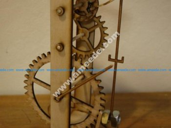 Galileo's Pendulum Clock
