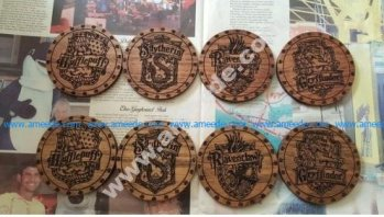 Harry Potter Drink Coasters