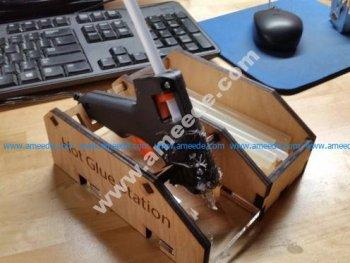 Hot Glue Gun Holder Mkii