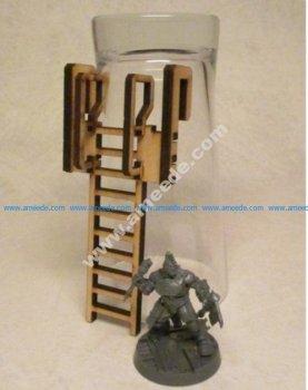 Ladder 8cm for 3mm laser cut