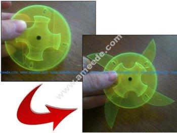 Laser cut ninja toy