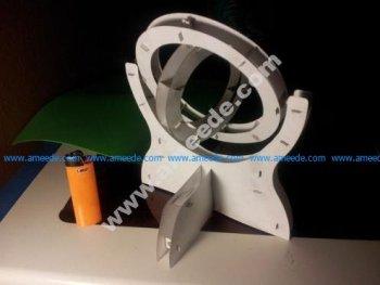 Lasercut Paper Gimbal