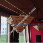 Lasercut modular lampshade