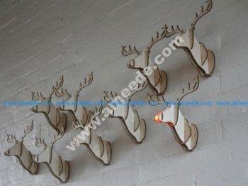 Mounted Deer