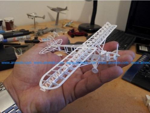 Piper Cub frame model