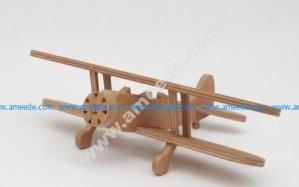 Waco UPF-7 Biplane simplified